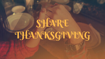 Share Thanksgiving